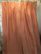 Sears Light Apricot/Peach Matching Curtains/ Drapes/ Swags/Valances - Cottage