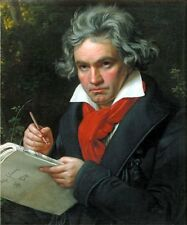Classic Music Composer Art Print: Portrait of Ludwig van Beethoven by Stieler