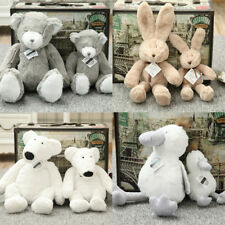 Plush Doll Soft Toy Stuffed Animal Cute Bear Rabbit Baby Kids Lover's Toys Gifts
