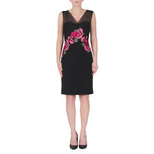 New Womens Joseph Ribkoff Dress Black / Multi 172151