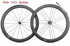 18 21 holes R36 50mm Clincher carbon bicycle road bike wheels with 1420 spokes
