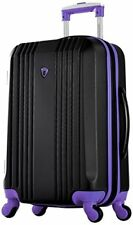 "Olympia Apache Ii 21"" Carry-on Spinner, Black+Purple"