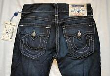 NWT $189 True Religion Denim Jeans Basic Bootcut with Flaps Natural 31 Lonestar