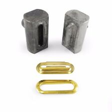 Setting fixing tool dies for oval eyelets grommets for universal hand press