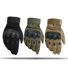 Sports Tactical Gloves Army Cycling Motorcycle Full Finger Carbon fiber Gloves