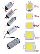 10/20/30/50/100W  LED SMD Chip Bulbs High Power Waterproof LED Driver Supply KF