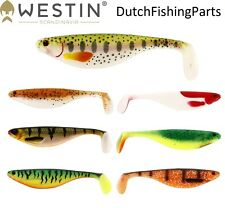 Westin Shad Teez 9 12 16 cm Soft Pike Zander Trout Hecht Gummifish Lure Tackle