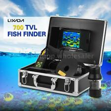 Lixada 7In Monitor 360 Degree Underwater Fishing Camera Color Fish Finder 20M