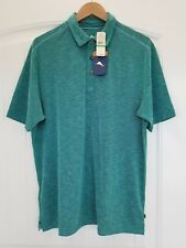 Tommy Bahama NWT Paradise Around Spectator Original Fit Polo in Gulf Shore Green