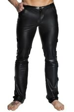Black Long Trousers H032 Men Stripper Gogo Gothic Wetlook S M XXXXXXL
