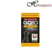 GOPO Joint Health Rose-Hip With Vitamin C - 120 or 360 Capsules