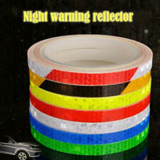 Fluorescent  Body Sticker Safety Cycle Wheel Colorful 1 Set Bicycle Reflector