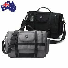 "Men's Travel Shoulder Bag Versatile Messenger Case 15.6""Laptop Practical Handbag"