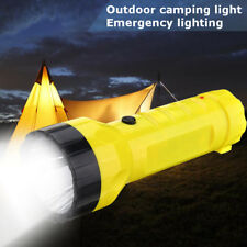 Solar Power Rechargeable LED Flashlight Camping Tent Light Torch Lantern Lamp CA
