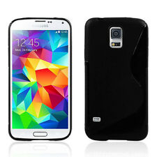 Soft TPU Gel Rubber Silicone Case Skin Cover Protetor For Samsung S5 S3 i9300