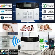 LCD Display Wireless GSM Autodial Security System Burglar Intruder Alarm DS