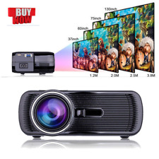 HD 1080P LED Mini Portable Projector Multimedia Home Theater Cinema BL-80 LOe