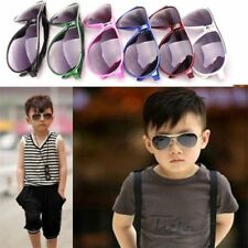 Child Cool Children Boys Girls Kids Plastic Frame Sunglasses Goggles Eyewear AM