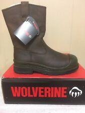 Mens Wolverine steel toe waterproof work boots