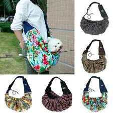 Small Pet Dog Cat Carrier Travel Bag Double-sided Pouch Shoulder Carry Tote