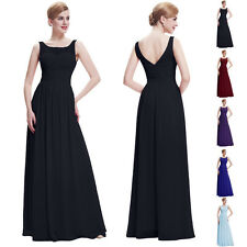 NEWEST Chiffon Bridesmaid Dress Party Cocktail Evening Prom Formal Gown Dresses