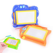 Kids Drawing Board Magnetic Writing Sketch Pad Erasable Magna Doodle Games