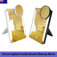 36 Led Lighted Vanity Beauty Makeup Mirror Magnifying Cosmetic Tabletop With USB
