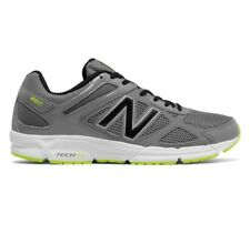 Mens New Balance 460 Running Walking Shoes Grey Black Lace Up Mesh Trainers