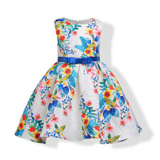 Flower Girl Princess Dress Girl Kids Pageant Dress Bridesmaid For Party Wedding;