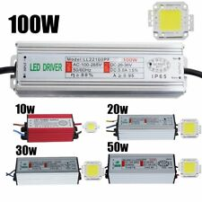 Waterproof 10 20 30 50 100W LED Driver Power Supply SMD Chip Bulb For Floodlight
