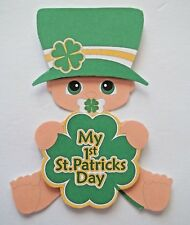 3D U Pick New01 Love St Patty Braces Easter First Scrapbook Card Embellishment