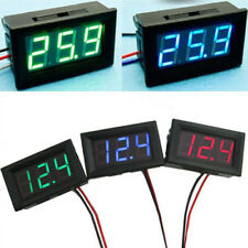 Baoblaze LED 3 Wire DC 0-30V Digital Voltmeter Voltage Meter Car Panel PICK