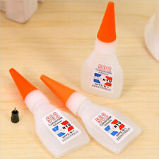 502 Super Glue Instant Cyanoacrylate Adhesive Strong Bond Fast Repair Tool PQ