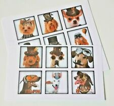 15-45 STICKERS SCRAPBOOKING CRAFT CARDMAKING EMBELLISHMENTS STEAMPUNK DOGS