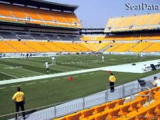 (2) 2018 Steelers 2nd Pre-Season Home Game Tickets 5th Row Lower Level!!
