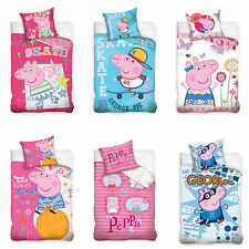Peppa Pig Children Bedding Bed Cover Piggy Peppa George Pig