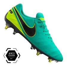 Nike Tiempo Legend VI SG-PRO ANTI CLOG LIMITED Soccer Cleats Shoes Jade 869483