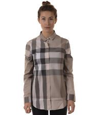 Burberry Shirt % Woman Grey 3976480-