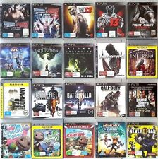 PS3 Games : Select Your Titles *2 - Sony PlayStation 3 - FREE POST
