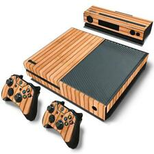 Wood Vinyl Skin Sticker Protector For Microsoft Xbox One and 2 controller ski...