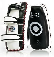 FAIRTEX MUAY THAI PADS KPLC2 OR KPLC3 PAIR KICK BOXING MMA AUTHENTIC