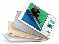 Apple iPad 5th Gen. 128GB, A1822  Wi-Fi, 9.7in  Space Gray,Gold and Silver