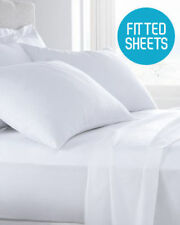 FITTED SHEET 21 INCH DEEP POCKET 100% EGYPTIAN COTTON MATTRESS PROTECTOR COVER