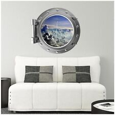 PortScape Takeoff Porthole Window Wall Decal Sticker Graphic Vinyl Space Shuttle