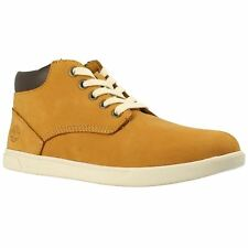 Timberland Earthkeepers Groveton Chukka Wheat Youth Nubuck Zip-up Ankle Boots