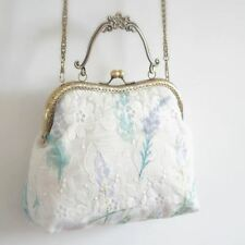 Handmade Lace Decorated Cell Phone Pocket Casual Cross Body Bag For Women