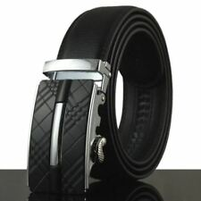 Men Stylish Fashion Metal Buckle Leather Material Casual Wear Belt