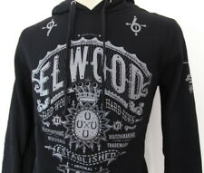 2018 New ELWOOD Mens PULLOVER FLEECE Hoodie Jacket Jumper Size S M L XL XXL