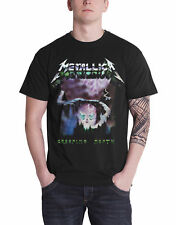 Metallica T Shirt Creeping Death Song Ride the Lightning Official Mens New Black