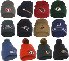NFL Authentic and Licensed Unisex Adult Winter Knit Hat Beanie Teams